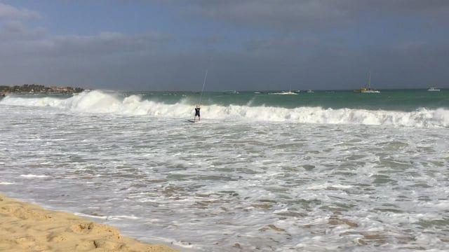 Spot:Cabo Verde - Sal   Latawce: Core Section, Cabrinha Drifter Deski: Cabrinha S-Quad, SU2 - wave,