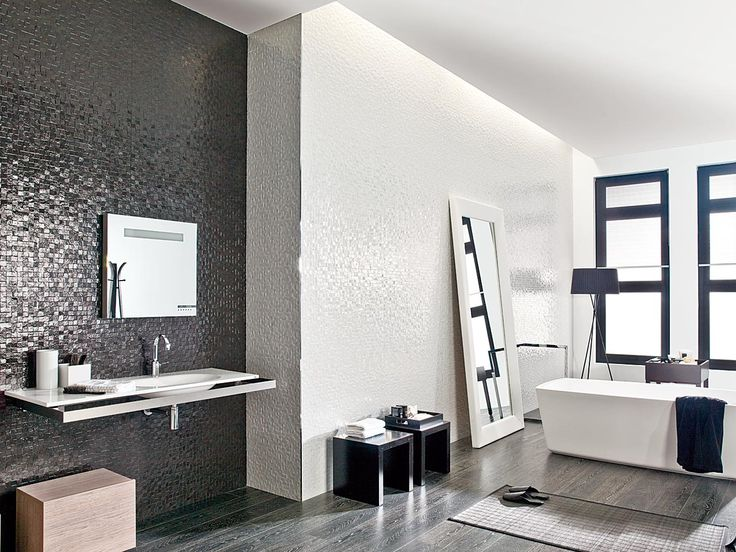 30 best wave images on pinterest bathroom ideas tiles for Porcelanosa carrelage mural
