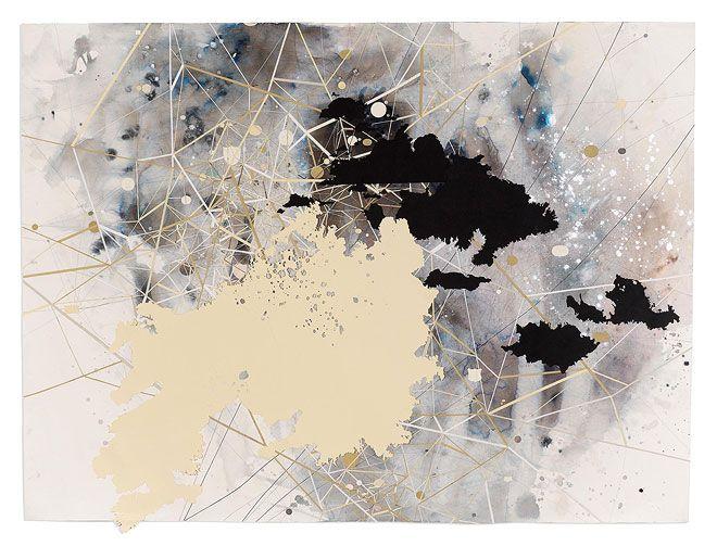 under the ruptured sky, 2010, Val Britton ~ via Miss Moss