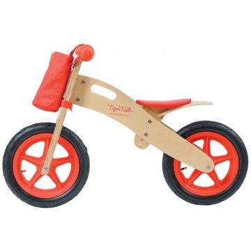 Tiger Tribe - Balance Bike Red #Entropywishlist #pintowin This would be a perfect first bike for my little boy