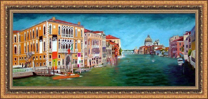 Grand Canal by Edgar Wagner