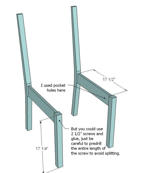 Pine Chair Plans