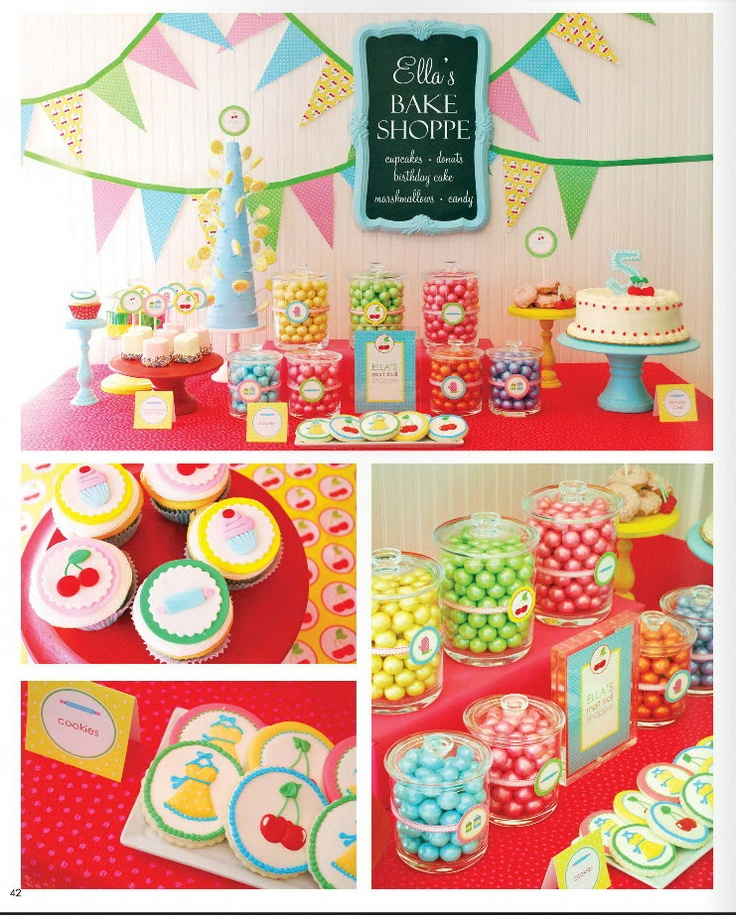 Birthday Party Buffet Table: 40 Best Images About Fun Birthday Party Ideas On Pinterest
