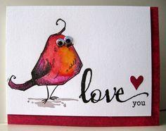 Tim Holtz - Bird Crazy love!!