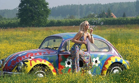 :): The Roads, Vw Beetles, Flowers Children, Vw Bugs, Hippie, Flowers Power, Bubbles, Flowerchildren, Dreams Cars