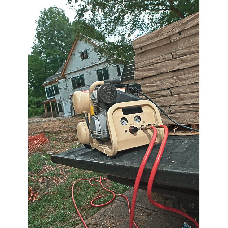 Ingersoll Rand TwinStack Portable Electric Air Compressor