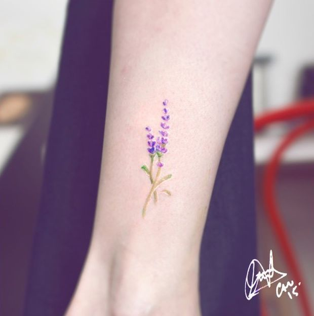 An Explosion Of Colors: Candelaria Carballo's Watercolor Tattoos