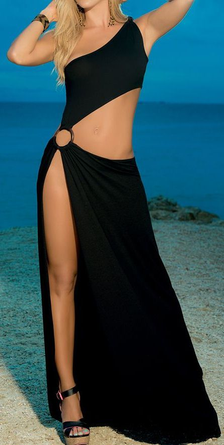 Black Cutout Cover-Up