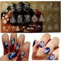 11Pcs/Set 20Slots Nail Art Stamp Plate Stamping Plates Cases+10Pcs Steel Nails Image Plates Flower/Lace Manicure Template XYL-in Nail Art Templates from Beauty & Health on Aliexpress.com | Alibaba Group
