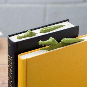 Закладка для книг Крокодил фото