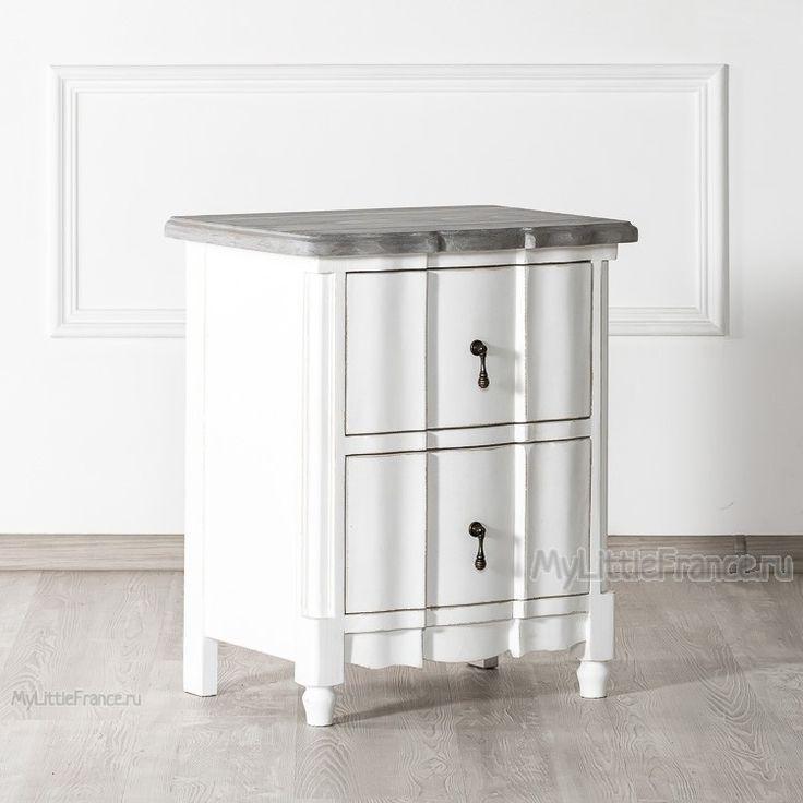 Прикроватная тумбочка Carmel - Тумбочки, туалетные столики - Спальня - Мебель по комнатам My Little France
