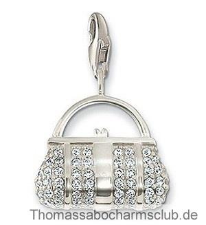 http://www.thomassabocharmsclub.de/genuine-thomas-sabo-silber-tasche-weiss-juwel-charme-sale.html#  Thomas Sabo Silber Tasche Weiß Juwel Charme