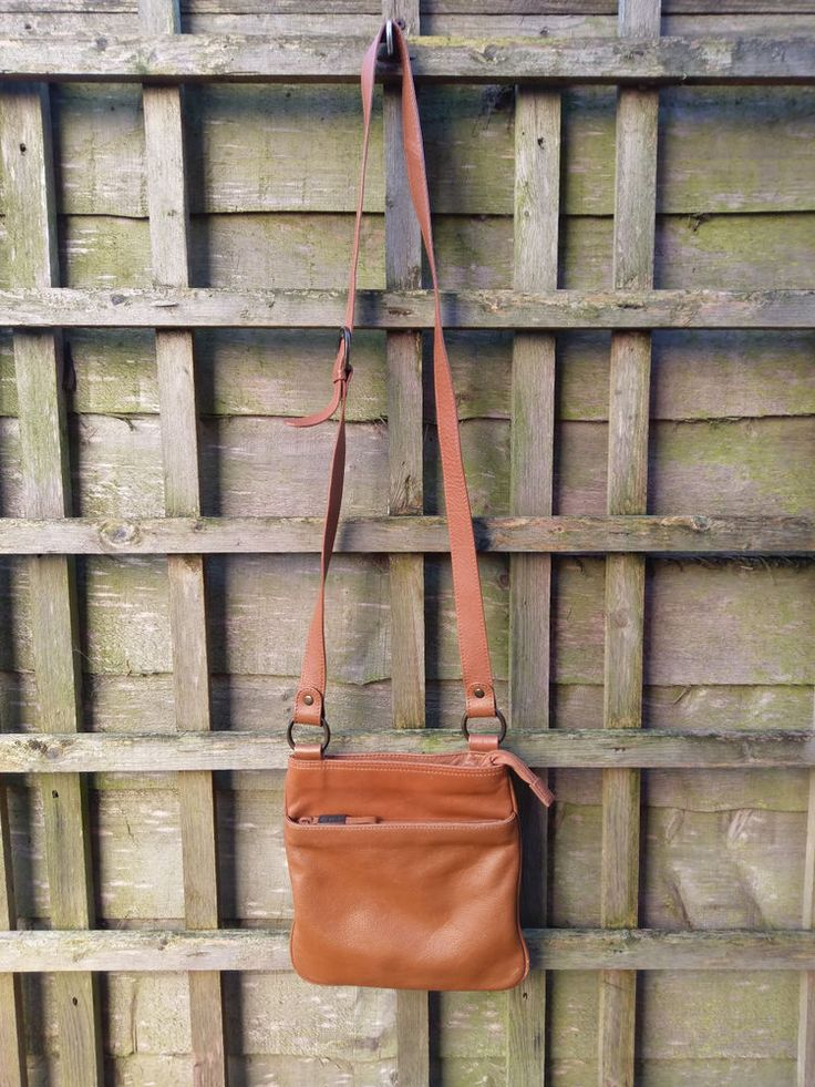Womens Debenhams Leather Bag Handbag Crossbody Shoulder Bags Tan LOVELY ! #Debenhams #ShoulderBags