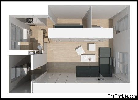 46 Best Images About Micro Apartments On Pinterest