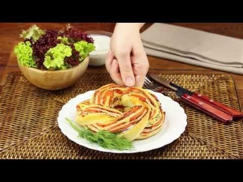 Pizzarulle med laks – en mundfuld af dette og dine gæster vil takke dig
