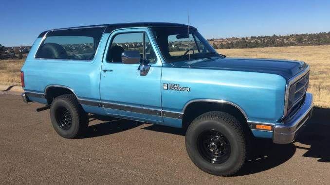 1988 5 2l 4spd Manual In Castle Rock Co In 2020 Dodge Ramcharger Rebuilt Transmission Dodge Trucks Ram