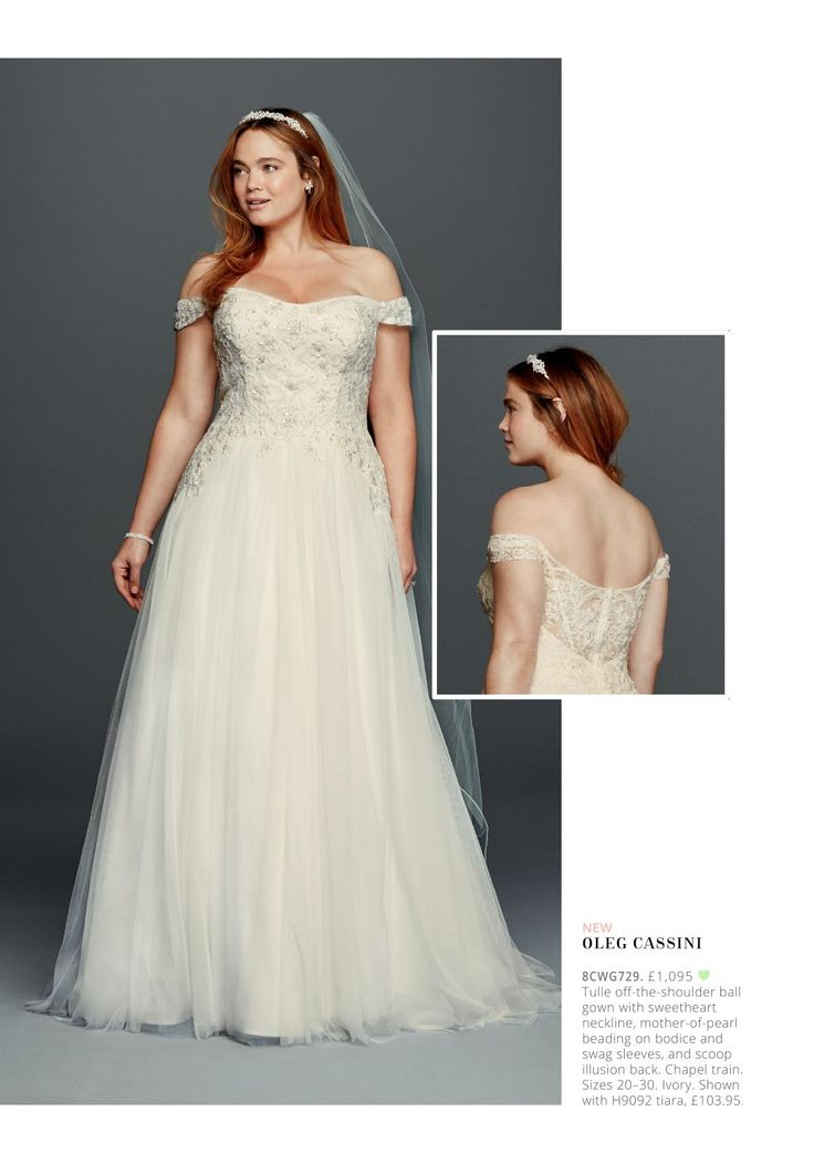 143 best dresses images on pinterest wedding frocks for Wedding dress with swag sleeves