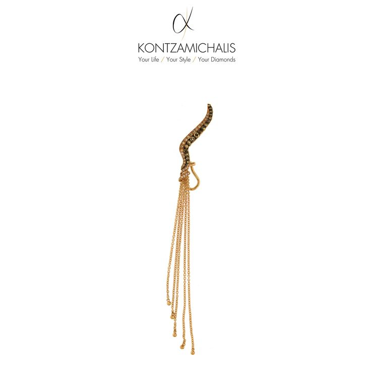 Make Saturday night even hotter by choosing #KontzamichalisJewellery! This magnificent earring will steal the show.
