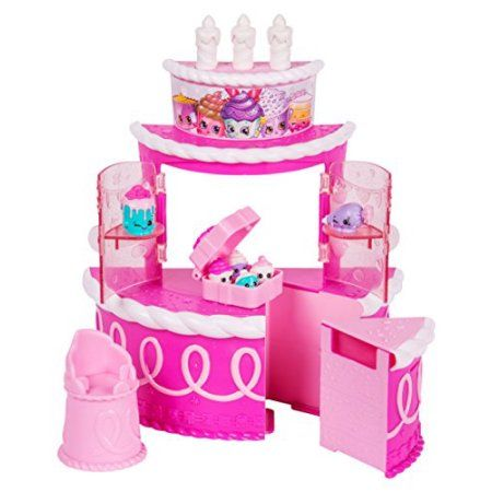 Shopkins Join The Party Playset - Birthday Cake Surprise, Pink