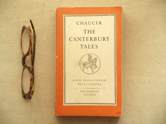 Penguin Classic The Canterbury Tales Chaucer penguin book.  528 page translation…