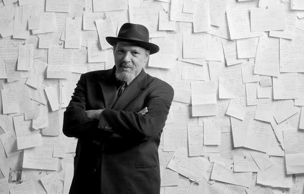 August Wilson. Pulitzer and Tony winning author and playwrite.