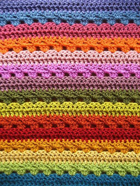 Mejores 65 imágenes de crocheted afghans en Pinterest   Mantas de ...