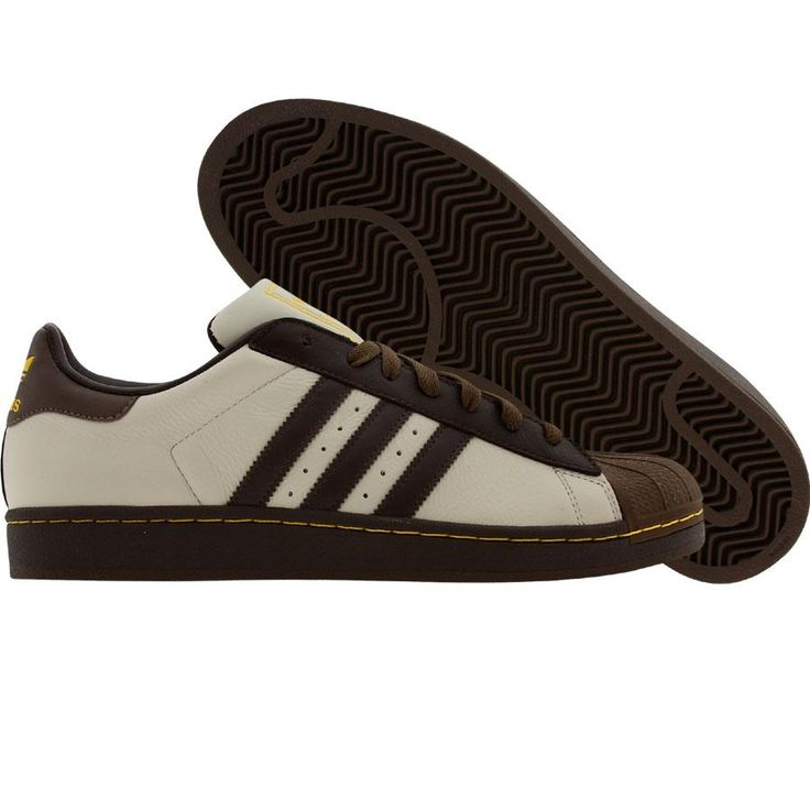 Et en marron et crème *_* Adidas Superstar II (lclay / tecbro / musbro)