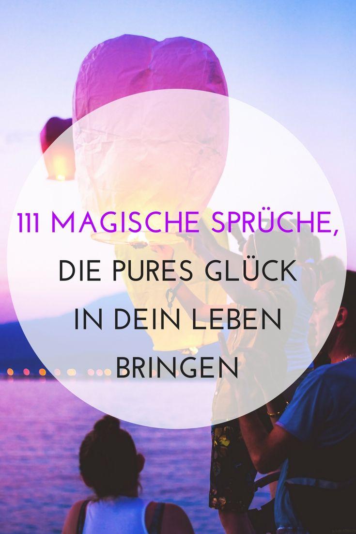 sprüche magie 111 magisch schöne Sprüche ᐅ die dein Leben sofort leichter  sprüche magie