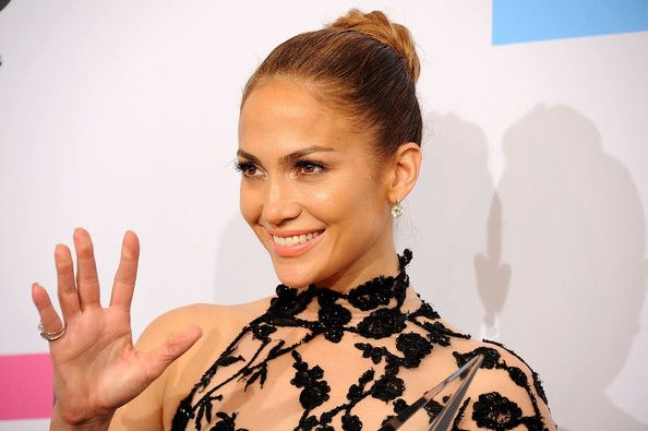 Jennifer Lopez Braided Bun