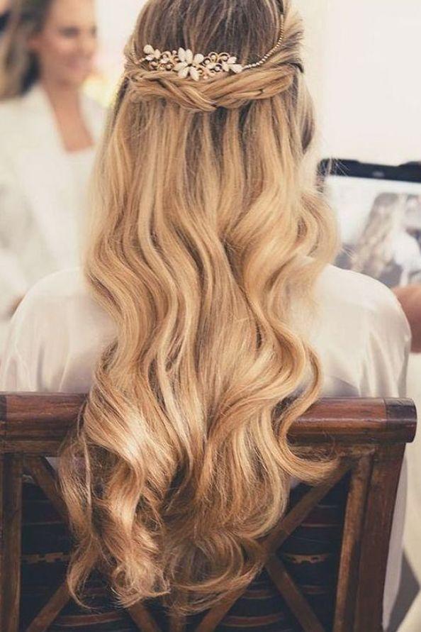 Dünnes haar langes für brautfrisur 40+ Frisuren