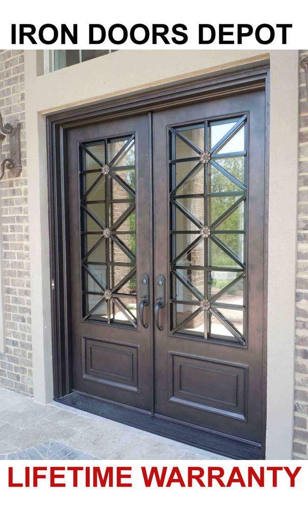 Thick Door Panel Integral Threshold Heavy Duty Hinges Flush