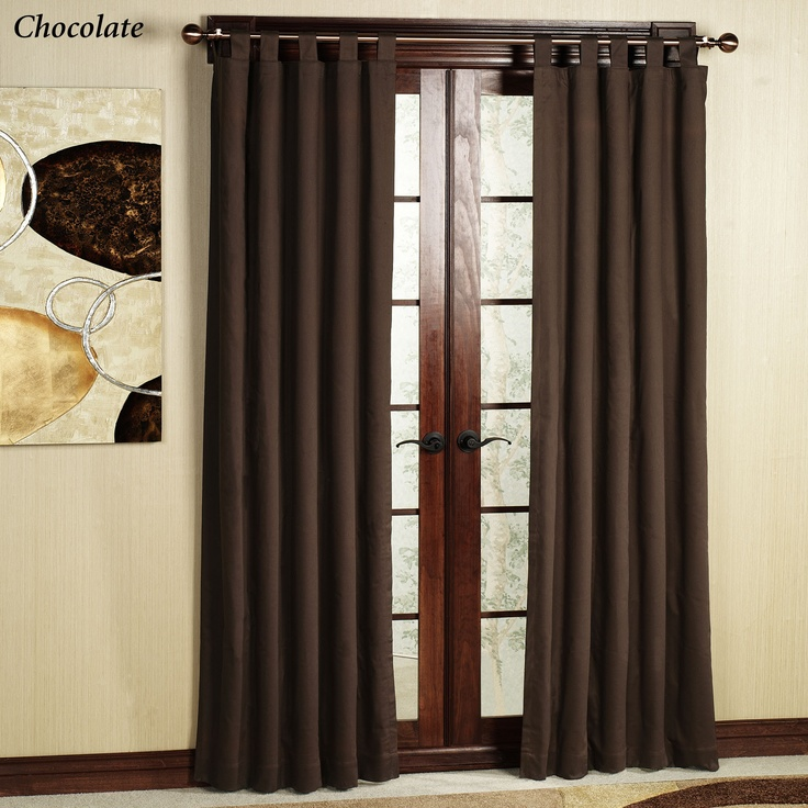 Door Panel Curtains : Images about patio door curtains on pinterest
