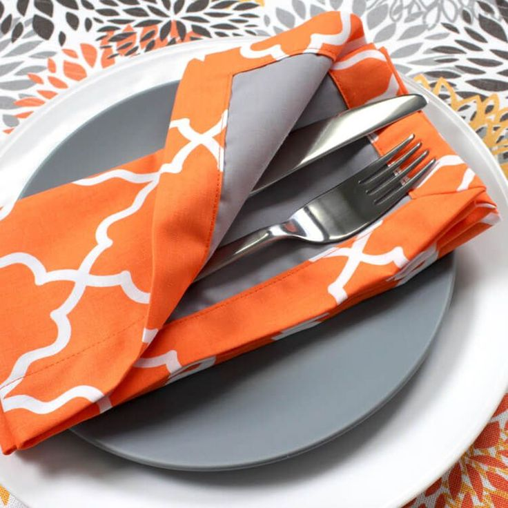 How to Sew Cloth Napkins | OFS Maker's Mill
