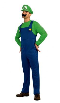 Déguisement Luigi Super Mario™ Adulte