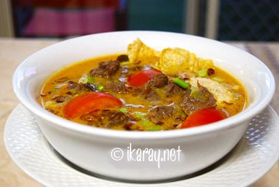 soto tangkar , indonesia spicy curry beef ribs