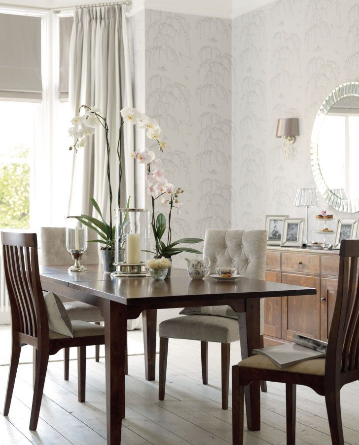 Weeping Willow Marble Wallpaper Room Inspiration Lauraashley