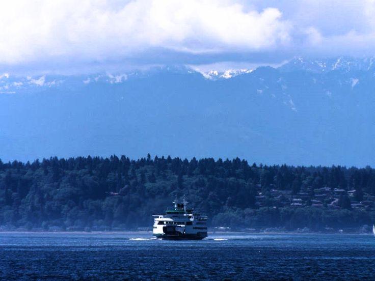 #Seattle #Mountains