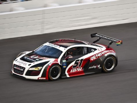 Premiere For Audi Daytona 24 Hours APR Motorsport Audi R8