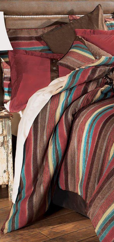 Western Espuelas Bed Set   Western Bedding Collection