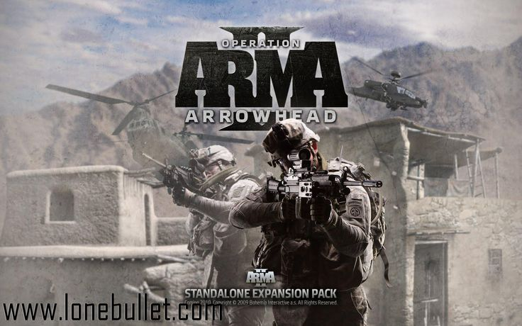 Download Arma 2 Operation Arrowhead Trainer for Arma 2 Operation Arrowhead at breakneck speeds with resume support. Direct download links. No waiting time. Visit http://www.lonebullet.com/trainers/download-arma-2-operation-arrowhead-trainer-free-441.htm and click the download now button.