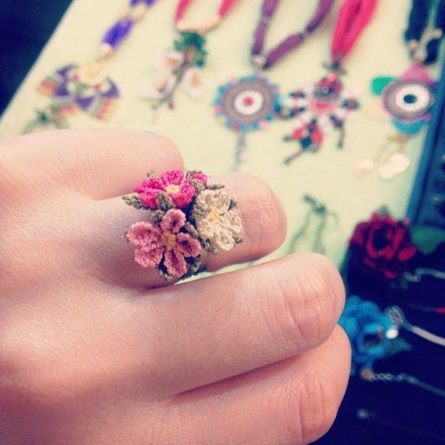 Oya-Turkish-lace ring