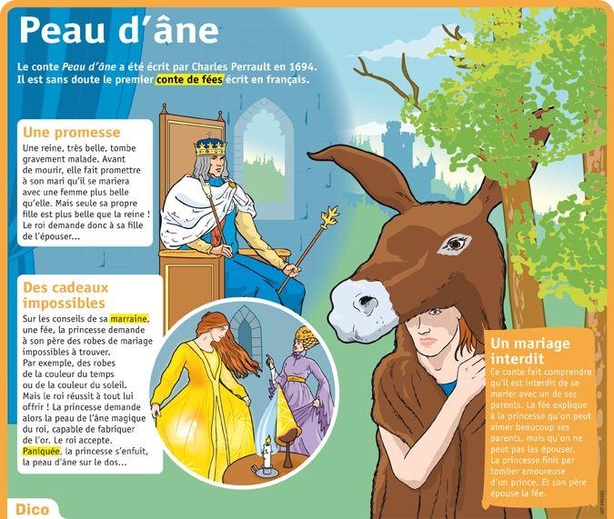 Fiche exposés : Peau d'âne