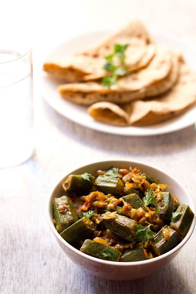 Moar okra curry! bhindi masala: step by step easy bhindi masala recipe | bhindi recipes