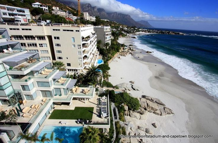 Clifton in Cape Town is home to some of the most expensive real estate in South Africa.