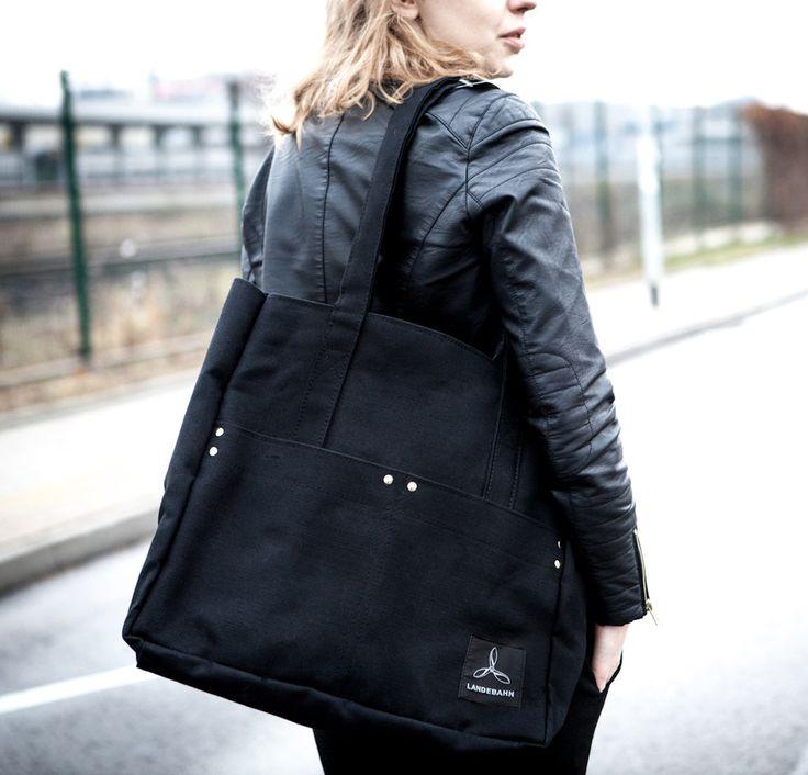 Torebka damska ROBUST BAG # EXTREME TOUGH, od projektanta LANDEBAHN   Mustache.pl