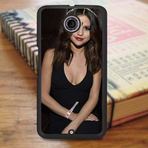 Selena Gomez Beautiful Indian Dress Nexus 6 Case