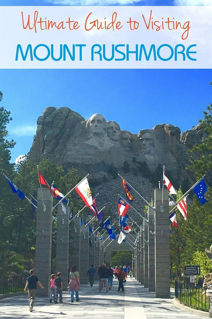 Visiting Mount Rushmore National Memorial, Black Hills, South Dakota,
