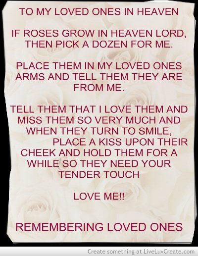 Loved Ones In Heaven Quotes: 17 Best Images About Our Loved Ones In Heaven On Pinterest