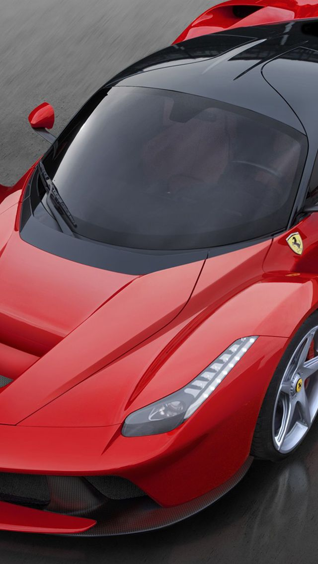 Ferrary LaFerrari iPhone 5 Wallpaper iPhone 5 Wallpaper