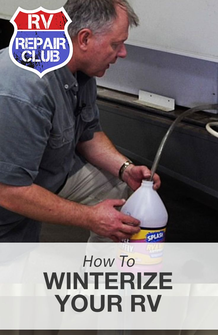 Before putting your RV away for the season you will need to take the necessary steps to properly winterize it. Knowing how to winterize an RV will save you time preparing your unit for storage or use during the cold winter months. Winterizing kits make it easy for those who do not know how to winterize an RV without fear of doing something wrong.